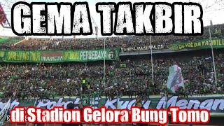 Download Lagu Bonek Takbiran di Stadion GBT   Persebaya vs Madura United mp3