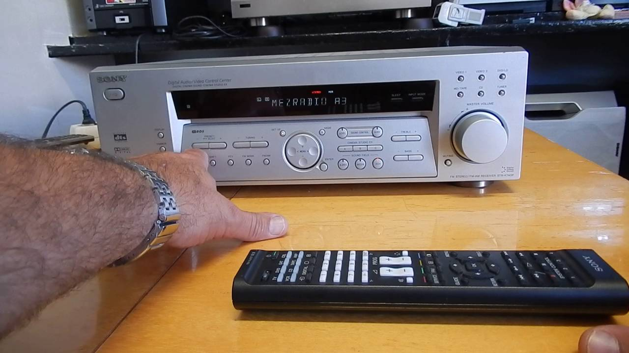 sony str k740p 5 1 receiver youtube rh youtube com sony model str k740p manual sony str-k740p manual pdf
