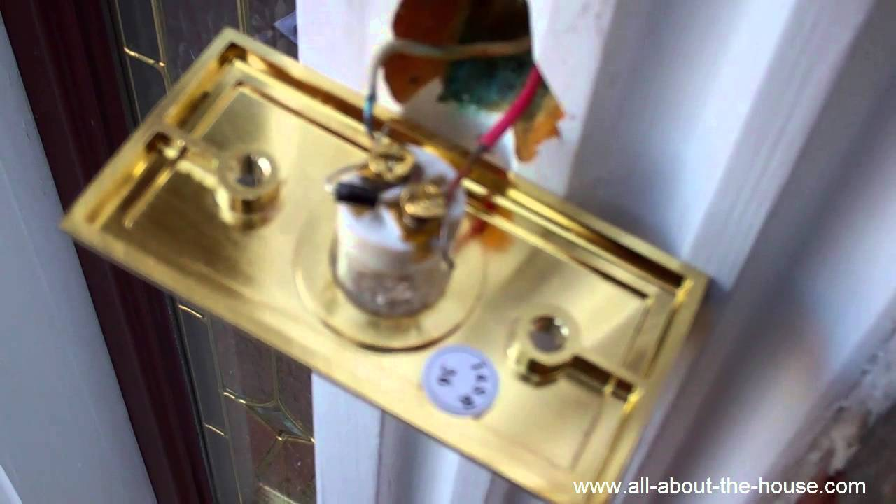 phantom doorbell ringing electronic chime button repair youtube. Black Bedroom Furniture Sets. Home Design Ideas