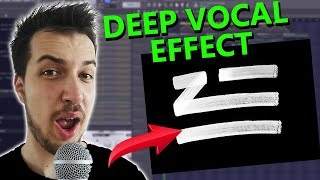 How to make DEEP VOCAL EFFECT like ZHU (if you can't sing) | FL Studio