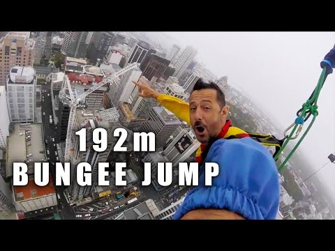 FLYING RATBOY & DIRTY SANCHEZ in AUCKLAND - Bungee Jump Sky Tower - CG VLOG #113
