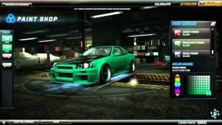 Need For Speed World OFFLINE Gameplay + Skyline Tuning