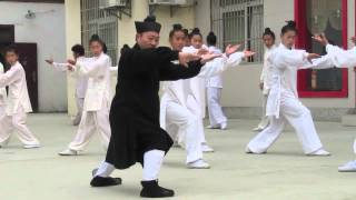 Learning Taiji Quan - Zhong Yun Long