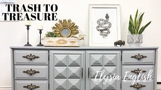 Trash to Treasure | FOUND CASH AT THE DUMP | Upcycle Project | DIY HomeDecor | Dump Dive | Recycle