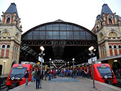 Integração (Trem + Metrô) na Estação Luz
