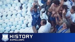 apollon fc web tv   history 13 14   one city one team one legend roster presentation