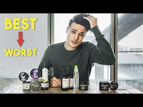 Mens Hairstyling Into 2019 | BEST And WORST Hair Products