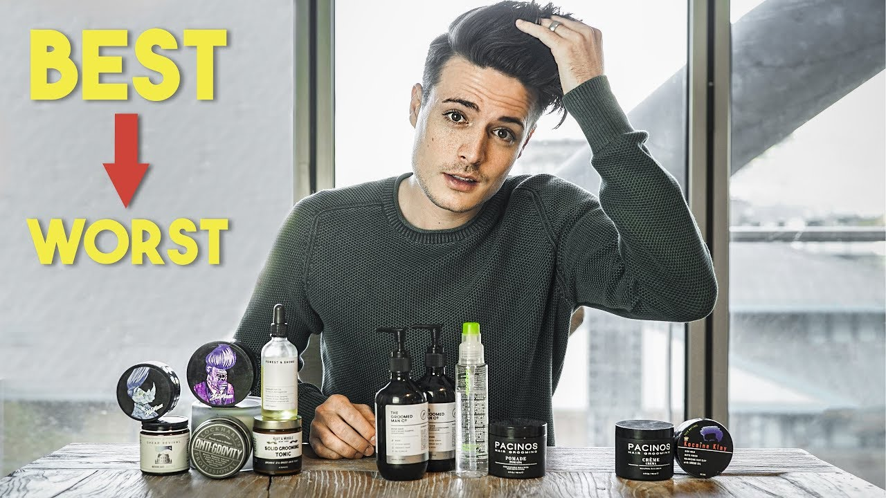 Mens Hairstyling Into 2019 Best And Worst Hair Products Youtube