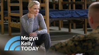 A Rare Look Inside A Marine Combat Training Camp At Camp Lejeune | Megyn Kelly TODAY