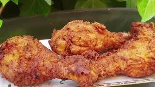 Пържено ароматно пиле с хрупкава коричка