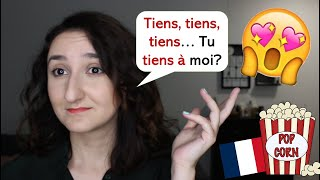 Урок#180: То, чего вы не знали о глаголе tenir. Французский по фильмам
