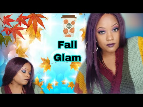 Fall makeup tutorial  look using Fenty Moroccan Spice Palette thumbnail
