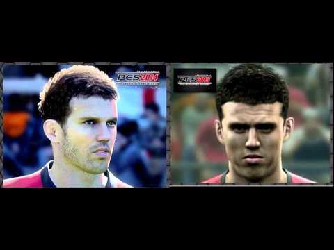 PES 2014 Vs PES 2013 - Face Comparison - Michael Carrick