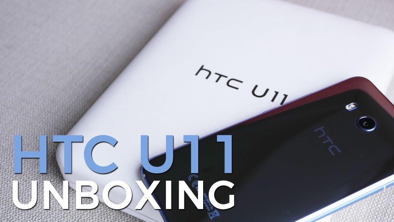 Unboxing the HTC U11 – HTC Source