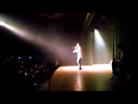 Agustin Gomez Cantando Su Primer Cover That Power