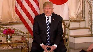 Trump says Mike Pompeo met with Kim Jong Un