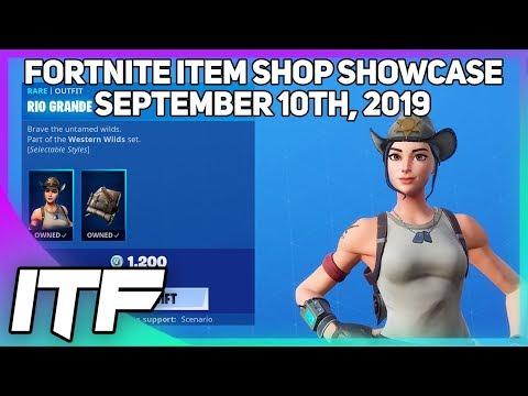Fortnite Item Shop RIO GRANDE IS BACK! [September 10th, 2019] (Fortnite Battle Royale)