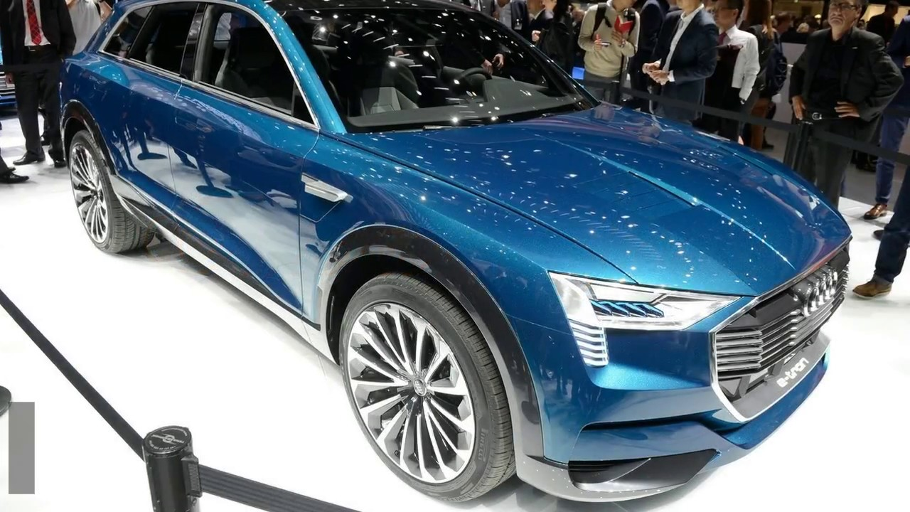 2018 New All Electric Audi E Tron SUV Exterior And