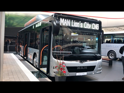 MAN Lion's City CNG 2017 In detail review walkaround Exterior