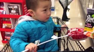 2013.01.30 Max want strawberry ice cream