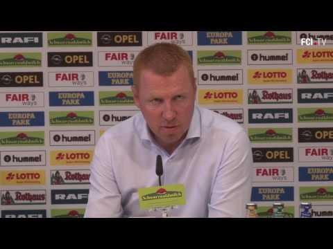 FCI TV Pressekonferenz nach dem Spiel beim SC Freiburg