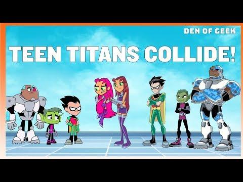 SDCC 2019: Teen Titans Go Vs. Teen Titans Cast Interview