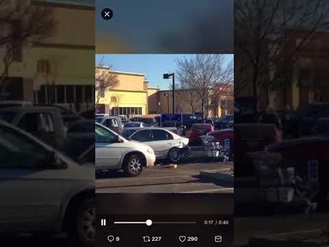 Walmart Parking Lot Road Rage Freakout