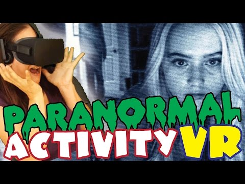 PARANORMAL ACTIVITY | Terror Virtual - Oculus Video VR 360