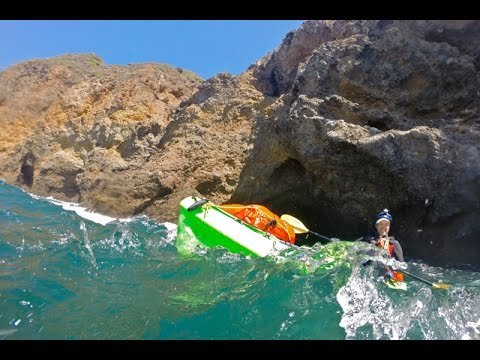 Kayaking Around California's Channel Islands