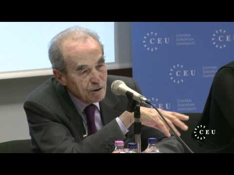 "French legal expert Robert Badinter on the prospects for a ""European justice"""