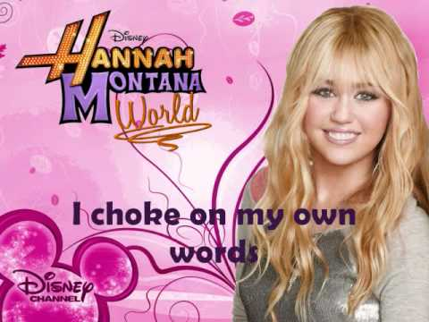 Hannah Montana - Ordinary Girl (Letra)