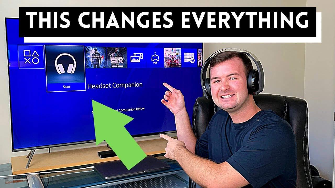 The PlayStation Headset Companion App Is A Complete Game Changer   How To Setup For Perfect Audio