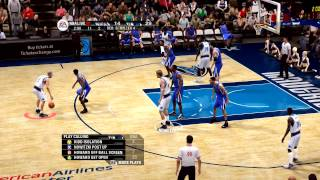 NBA Live 09 - Mavs vs Kings - Requested