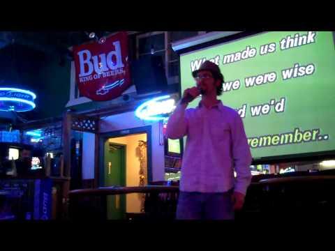 Ben doing Freshman karaoke