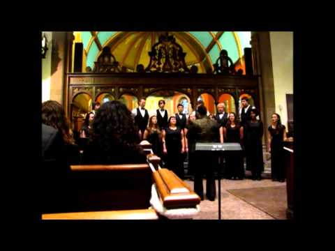 Joshua Fit the Battle of Jericho performed by Taconic High School Honors Chorus