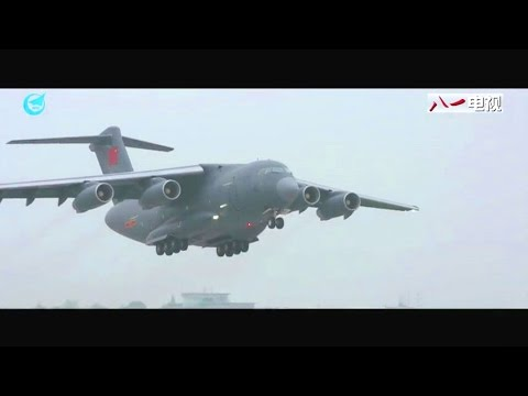81 TV - China Y-20 Long Range Strategic Heavy-Lift Aircraft Operational [480p]