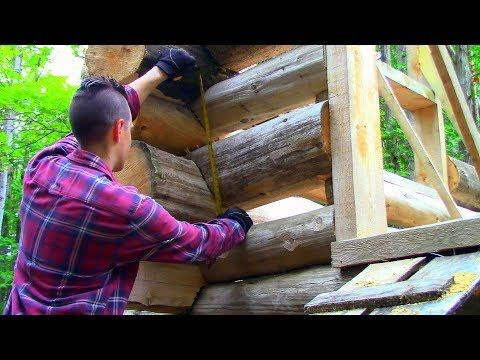 Why the Log Gaps? Chinked vs Scribed / Log Cabin Update- Ep 10.13