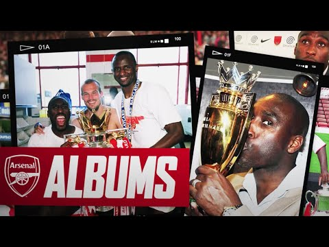 Sol Campbell | Moving from Spurs, The Invincibles, Vieira, Wenger & more | Arsenal Albums