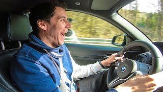 НАВАЛИВАЕМ 300 км/ч на BMW. Вне закона !