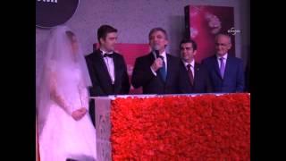Cumhurbaşkanı Gül, Özhaseki'nin kızının nikah şahitliğini yaptı