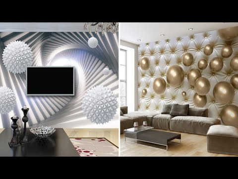 3d Wallpaper Designs For Living Room 2020 Modern And Stylish 3d Wallpaper Catalogue Youtube