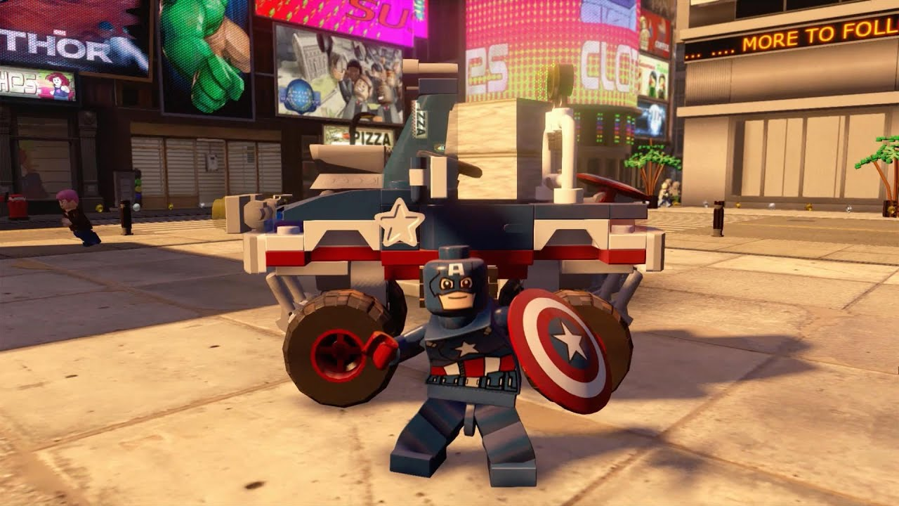 LEGO Marvel's Avengers: Vehicles Spotlight | Available Now ...
