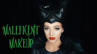 Maleficent Halloween Makeup Tutorial
