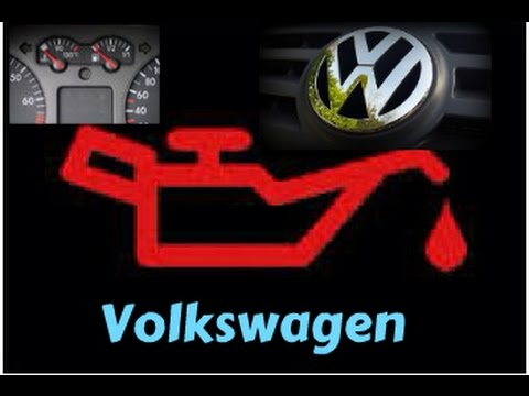 Vw Red Oil Light Blinking Fix Youtube