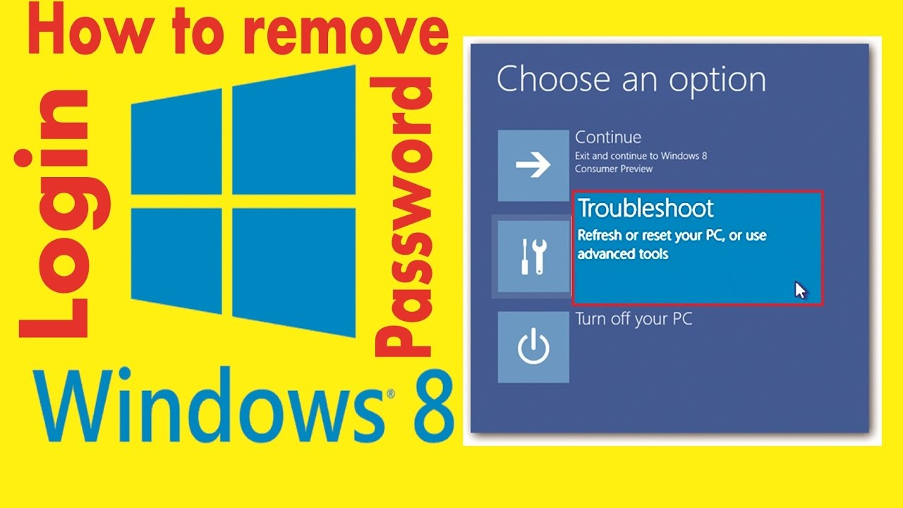 How To Remove/reset Administrator Forgotten Password