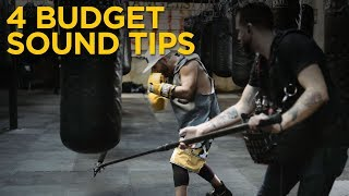 Get Better Audio! 4 Tips For Sound Mixing On A Budget