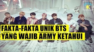 Video FAKTA-FAKTA UNIK BTS YANG WAJIB ARMY TAU! download MP3, 3GP, MP4, WEBM, AVI, FLV Maret 2018