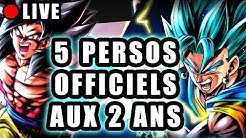 🔴 INFOS & PERSOS OFFICIELS des 2 ANS DRAGON BALL LEGENDS