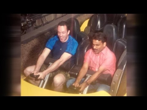 Man Brings His Taxi Driver to Theme Park After Finding Out He's Never Been