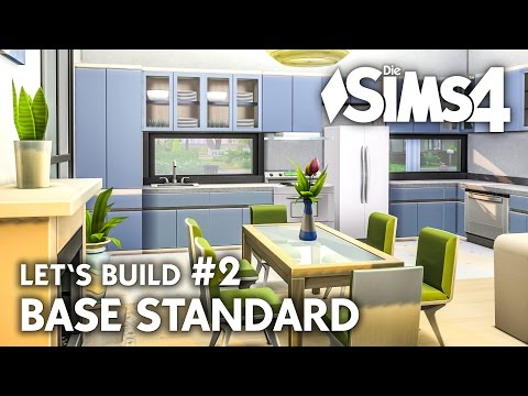Die Sims 4 Haus bauen ohne Packs |Base Standard #2 | Let's Build (deutsch)
